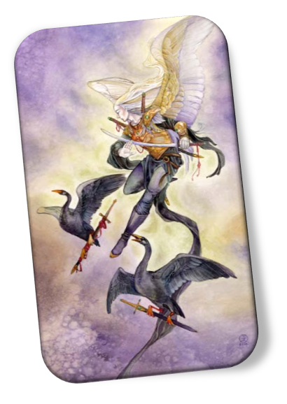 The meaning of the Five of Swords Shadowscapes Tarot