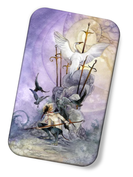 meaning of the Seven of Swords Shadowscapes Tarot