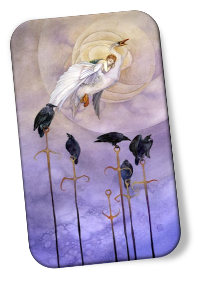 meaning of the Six of Swords Shadowscapes Tarot