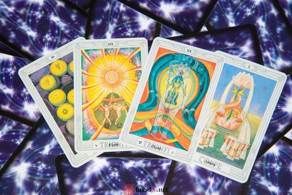 thoth tarot deck images